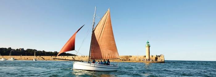 Sortie en mer avec le vieux gréement le Rigel