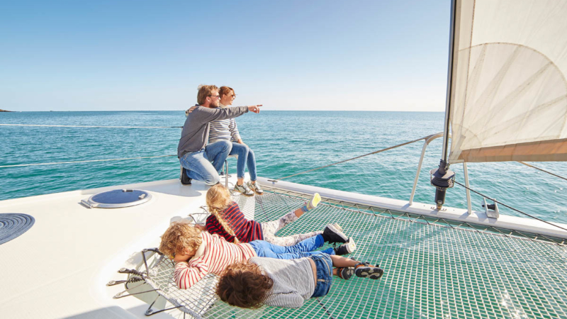 Sortie Catamaran à Binic