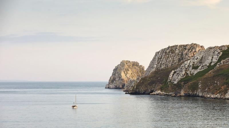 Falaises à Camaret-sur-Mer