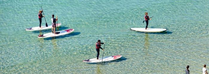 Pointe de Pen-Hir en Paddle à Camaret-sur-Mer