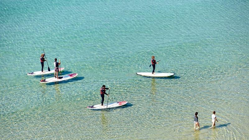 Les eaux turquoise de Camaret-sur-Mer