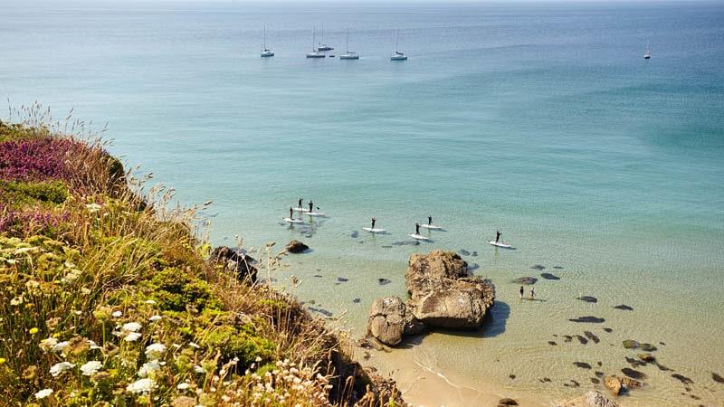 Paddle à Camaret-sur-Mer