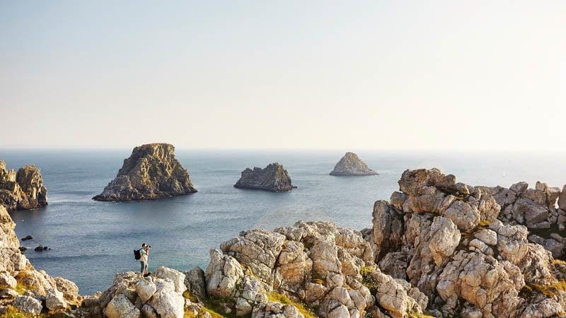 Point de vue des tas de Pois à Camaret-sur-Mer