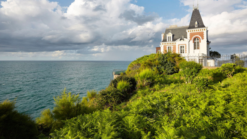Les villas d'époque à Dinard