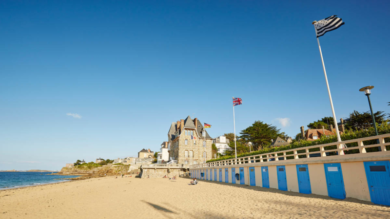 Plage de Saint Enogat à Dinard