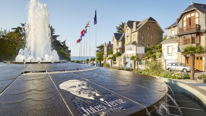 Le quartier de Saint Enogat à Dinard