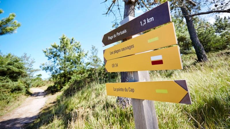 Sentier de randonnée à Erquy