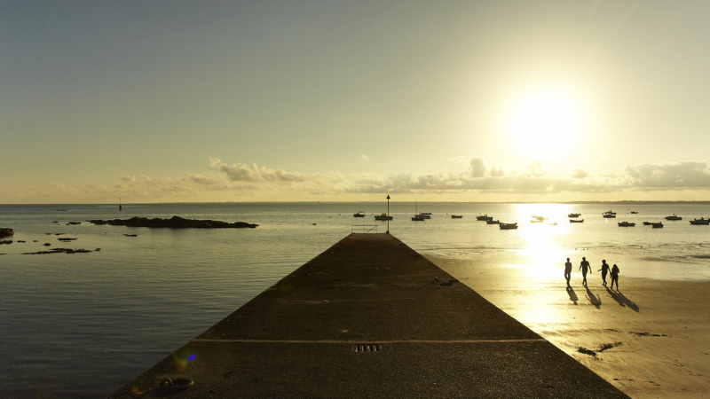Coucher du soleil à Fouesnant-les Glénan