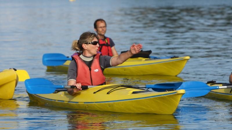 Découvrir la Baie en kayak à Fouesnant-Les Glénan