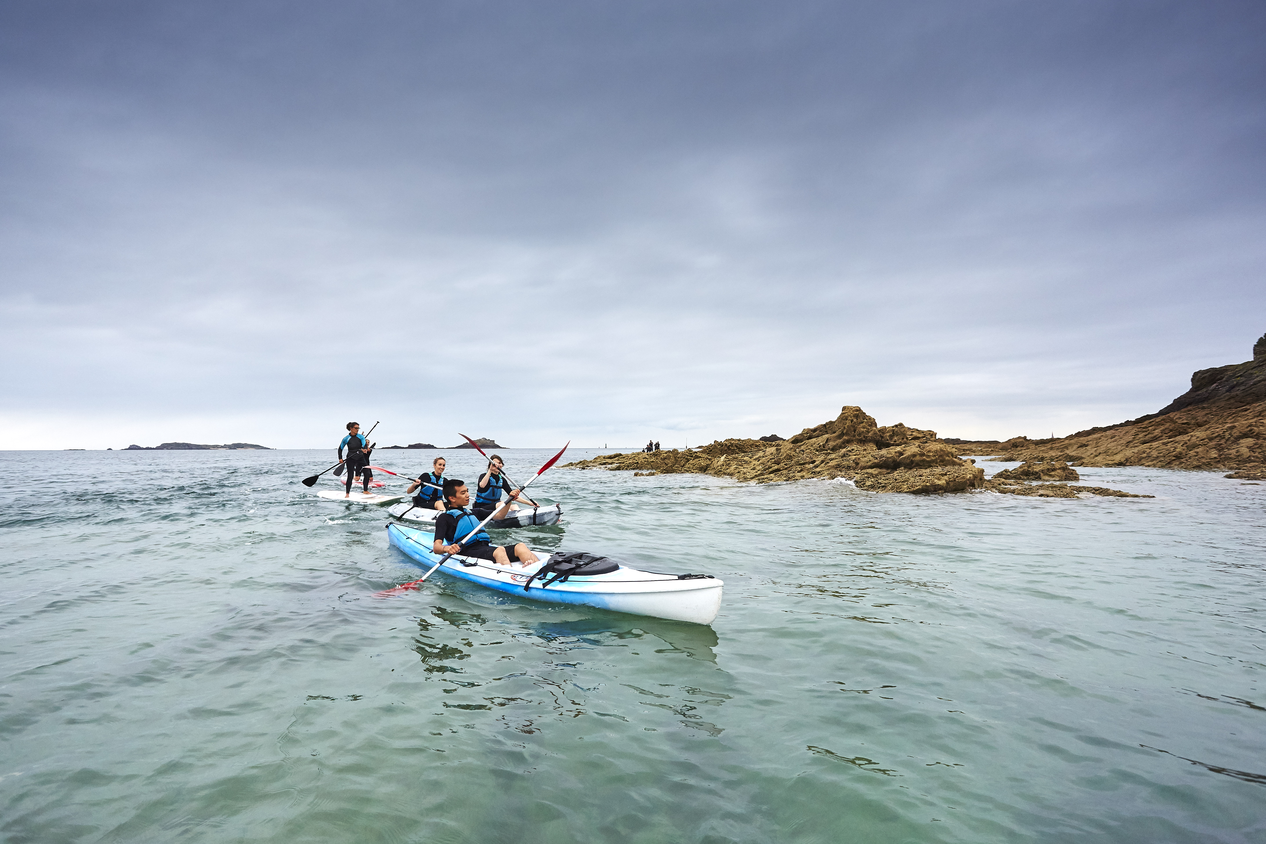 Faire une balade en kayak