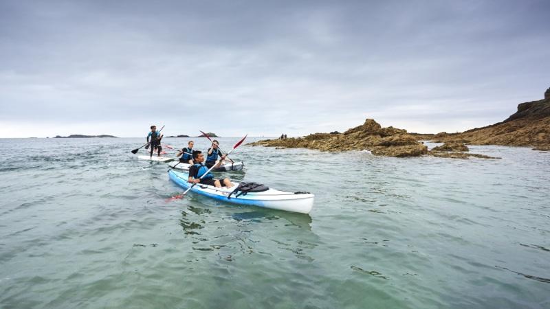 Kayak à Dinard