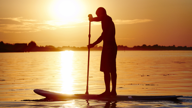 Stand-up paddle à Arzon