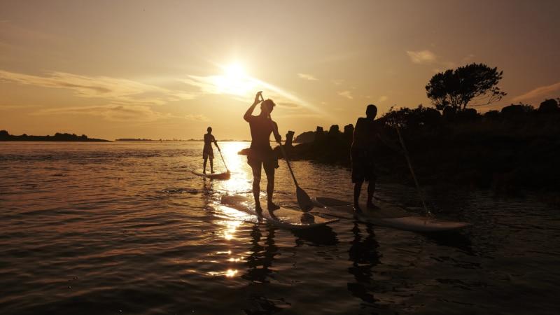 Stand up paddle en Presqu'île de Rhuys