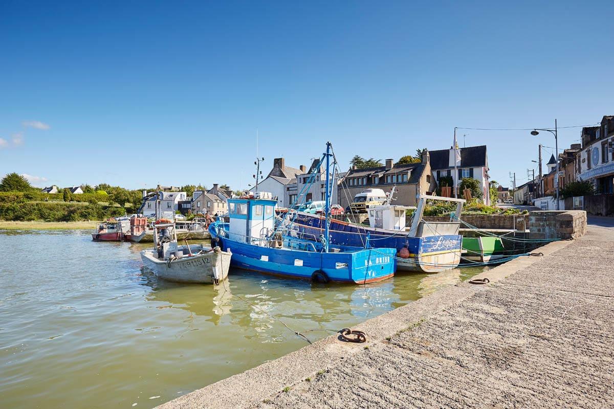 Port de pêche de Tréhiguier à Pénestin