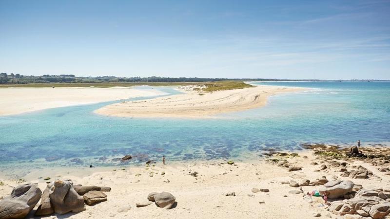 Se laisser griser par la vitesse sur une des plus belles baies de Bretagne à Plouescat