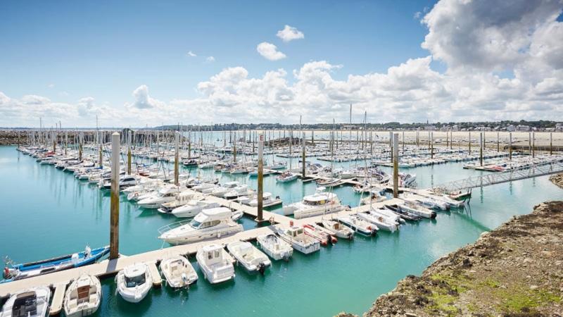 Le port eau en eau profonde de Saint-Cast-le Guildo