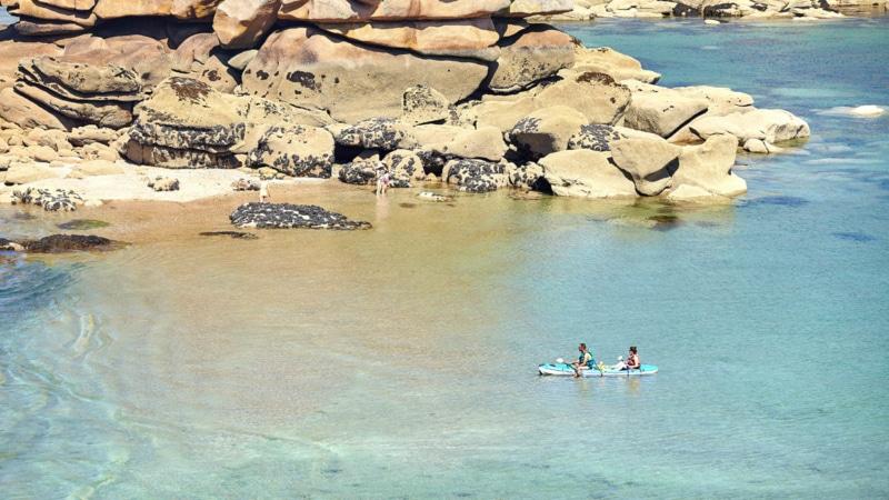 Kayak à Trébeurden