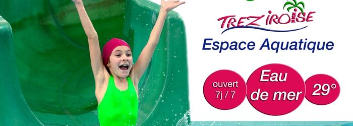 S'accorder un moment de détente à la Tréziroise, la fameuse piscine d'eau de mer chauffée à 29°C