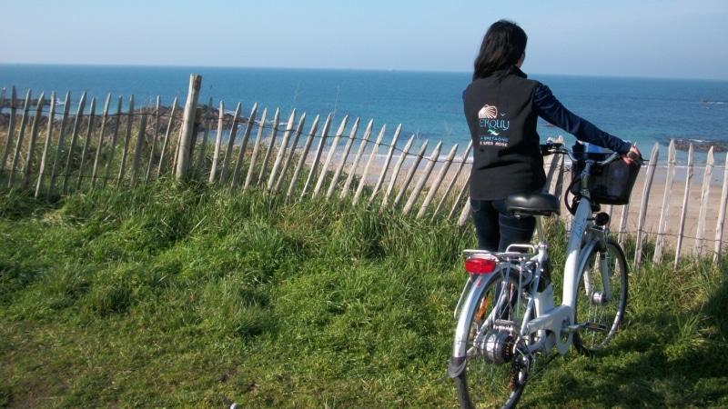 Je m'évade en vélo à assistance électrique à Erquy