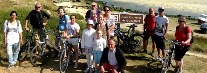 La vélo-découverte pour découvrir Plouescat à bicyclette avec une guide-conférencière