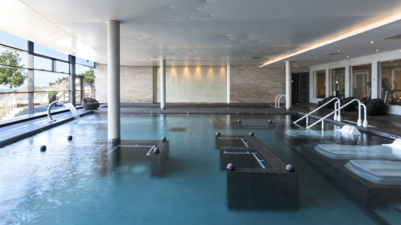 La piscine du Spa marin du Val André