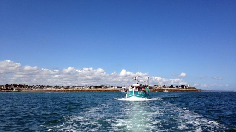 Au départ du port de Saint-Quay-Portrieux