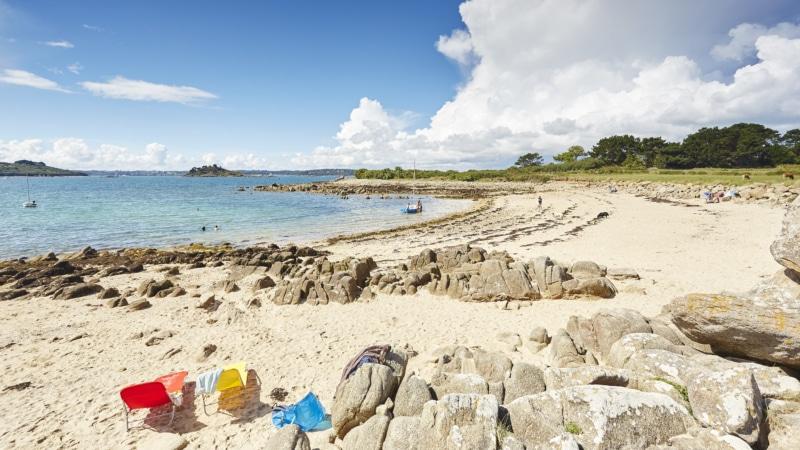 Soirée à la plage du Véryac'h à Camaret-sur-Mer