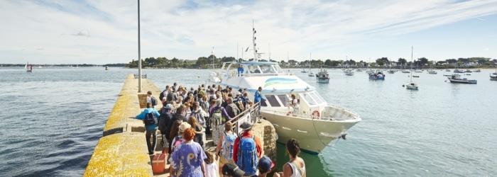 Partir à la découverte du Golfe du Morbihan et de ses îles au départ de Port Navalo à Arzon