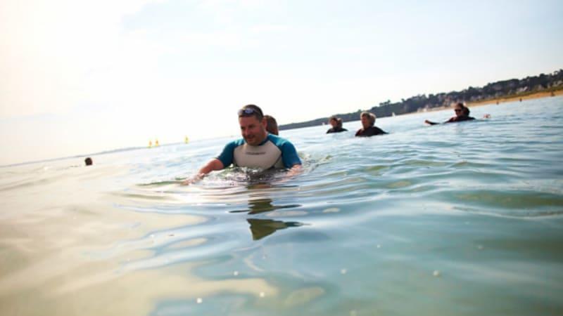 Marche aquatique à Pénestin