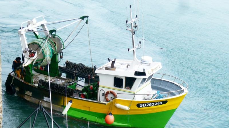 Bateau de Pêche à Saint-Quay-Portrieux