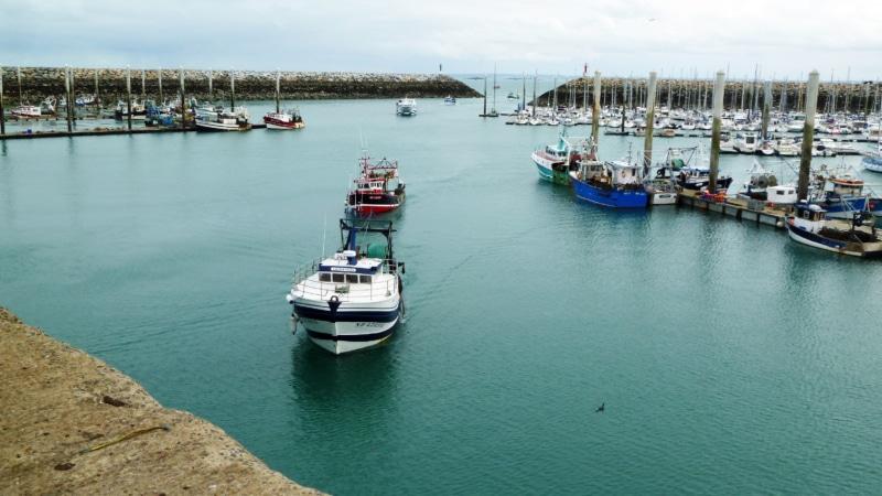 Saint-Quay-Portrieux - Pêche à la coquille Saint-Jacques