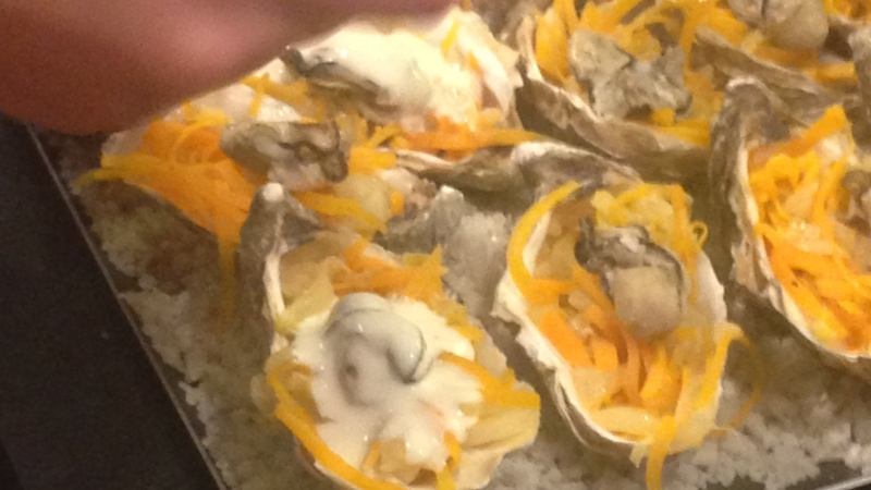 Huîtres Chaudes - Atelier Cuisine Trébeurden