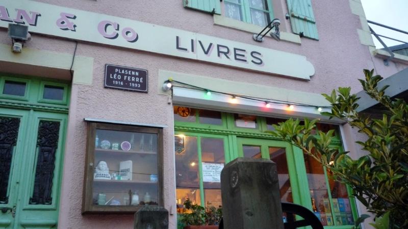 Café-librairie Le Caplan&Co à Locquirec