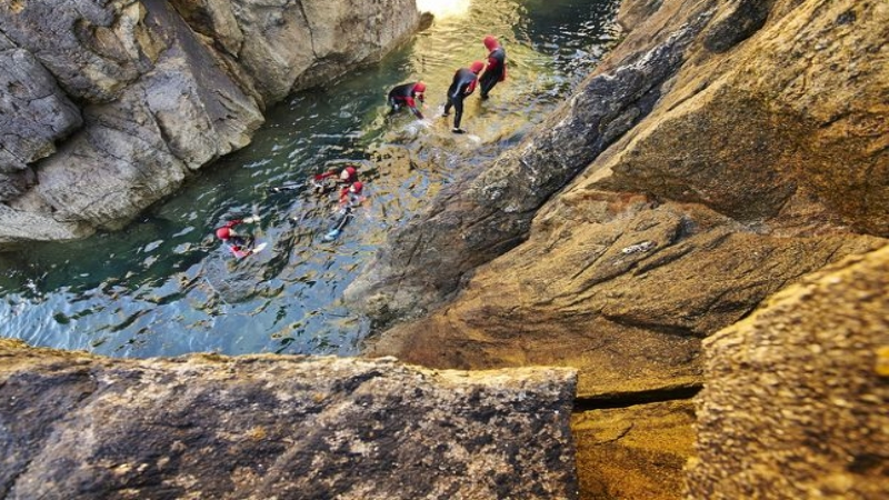 Raid Canyon à Plougonvelin