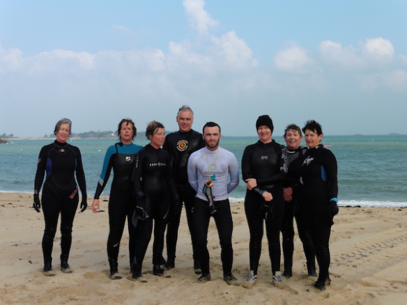 Marche aquatique à Carantec