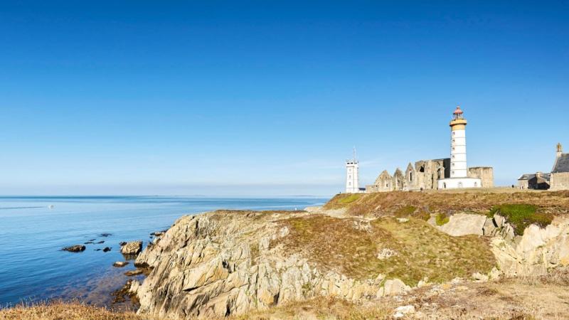Le phare et l'abbaye de la Pointe Saint-Mathieu