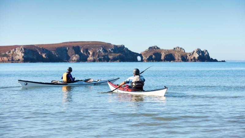 Kayak à Camaret-sur-Mer