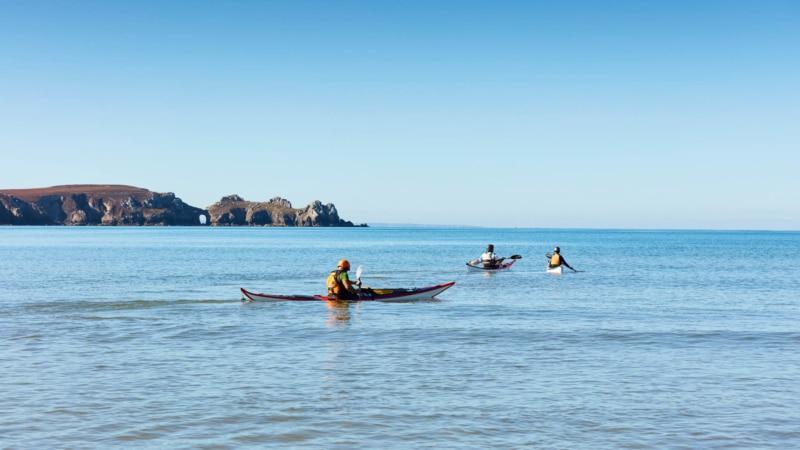 Sortie Kayak entre amis à Camaret-sur-Mer