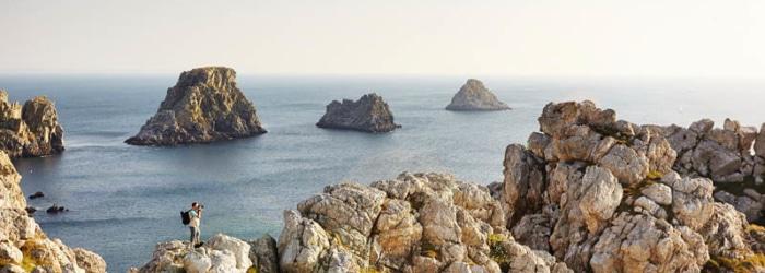 La balade aux Tas de Pois à Camaret-sur-Mer