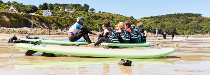 Prendre des cours de Surf SurfPlaya School à Locquirec