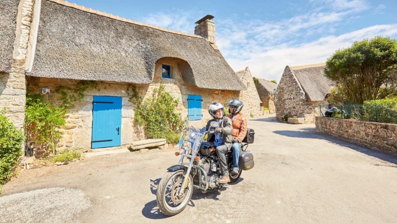 Road trip en moto à Névez