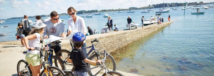 Location de vélo au Port du Crouesty