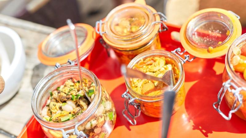Saveurs gastronomiques à à bord de L'Ausquémè à Cancale