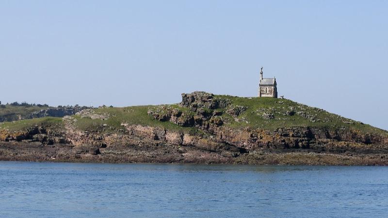 Ilôt Saint-Michel au large d'Erquy