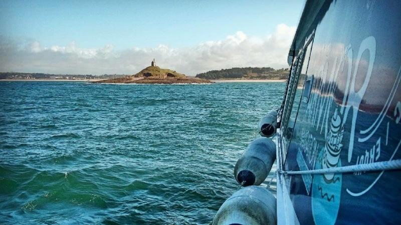 Sortie en mer à Erquy