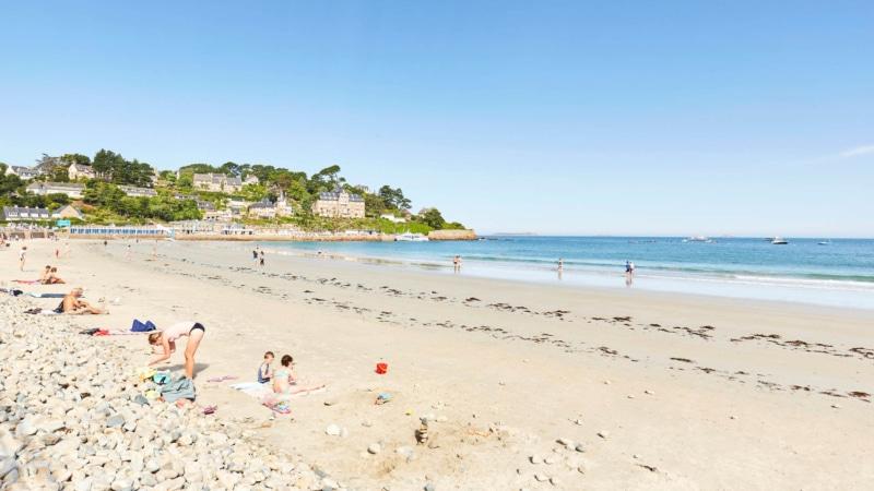 La plage de Trestraou à Perros-Guirec