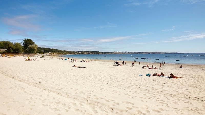 La plage du Trez-Hir à Plougonvelin