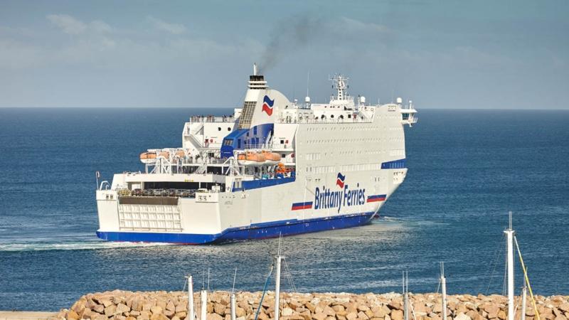 Ferry à Roscoff