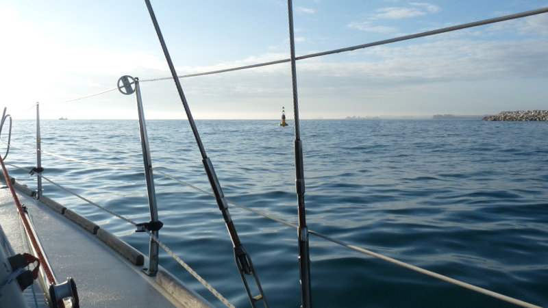 A bord du voilier Steir-way à Roscoff