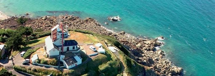 Profiter d'une vue sur toute la baie de Saint-Brieuc depuis la pointe du Sémaphore